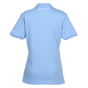 Jerzees SpotShield Button Jersey Shirt- Ladies' Image 1 of 1