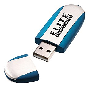 USB Flash Memory Stick - Opaque - 128MB  - 24 hr