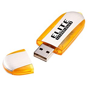 USB Flash Memory Stick - Translucent - 1GB - 24 hr Image 2 of 2