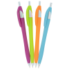 View Extra Image 1 of 1 of Javelin Soft Touch Pen - Neon - Full Color