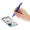View Extra Image 1 of 2 of Javelin Soft Touch Stylus Pen - Metallic - Full Color