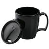 View Image 2 of 3 of Arrondi Acrylic Mug with Lid - 14 oz. - Opaque
