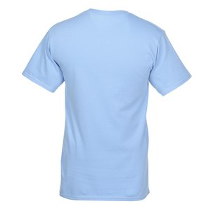 Hanes Tagless Pocket T-Shirt - Embroidered - Colors Image 1 of 1