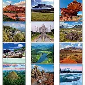 Glorious Getaways Calendar - Mini Image 1 of 1