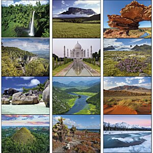 Glorious Getaways Calendar - Stapled Image 1 of 1