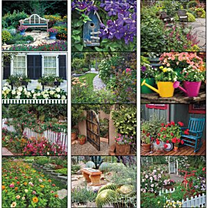 Garden Walk Calendar - Stapled Image 1 of 1