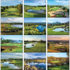 View Extra Image 1 of 1 of Fairways & Greens Calendar - Spiral
