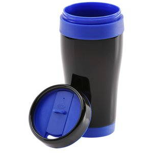 Black Stainless Steel Tumbler - 16 oz. - 24 hr Image 1 of 2