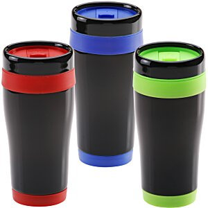 Black Stainless Steel Tumbler - 16 oz. - 24 hr Image 2 of 2