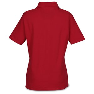 Hanes ComfortSoft Cotton Pique Shirt - Ladies'