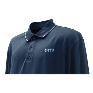 Microfiber Poly-Dri Sport Shirt - Men's Image 1 of 2