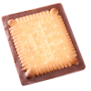 View Image 3 of 4 of Chocolate Cookie - Rectangle