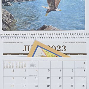 Wildlife Art Pocket Calendar Image 2 of 2