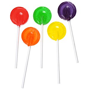 Fruit Flavored Lollipop - Sugar-Free Image 2 of 2