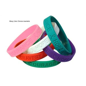 Silicone Bracelet - Teal Image 1 of 1