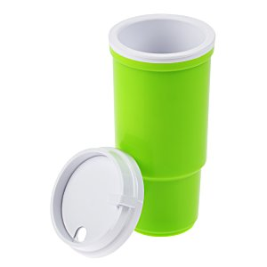 Insulated Auto Tumbler - 16 oz. - White Image 3 of 3