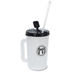 Insulated Medical Mug with Straw - 34 oz. Image 3 of 3
