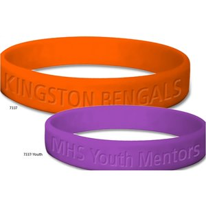Youth Custom Silicone Bracelet Image 1 of 1