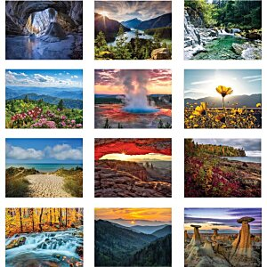 American Scenic Appointment Calendar - Stapled Image 1 of 1