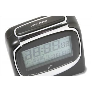 Global Atomic Travel Alarm Clock - Closeout Image 2 of 2