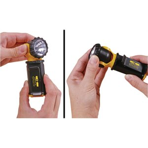 Swivel Head Flashlight w/Clip Image 3 of 5