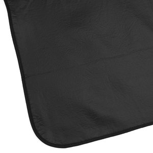 Roll-Up Blanket – Brown/Black Plaid with Black Flap Image 2 of 2