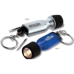 Mini Flashlight Tool - Translucent Image 1 of 2