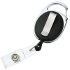 View Extra Image 1 of 2 of Clip-On Retractable Badge Holder - Opaque