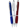 Curvy Stylus Twist Pen - Metallic - Gel Image 1 of 1