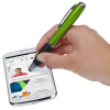 View Extra Image 4 of 5 of Curvy Stylus Twist Pen with Flashlight