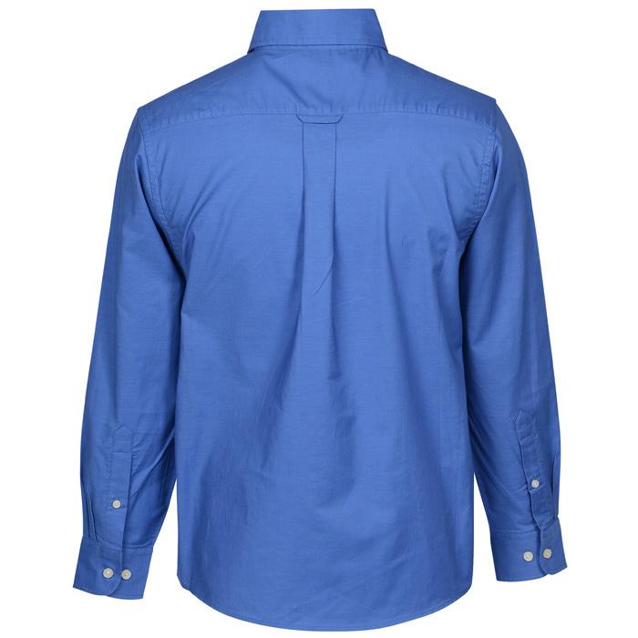 435eff4576a 4imprint.com  Structure Stain Release Oxford Shirt - Men s 7726-M