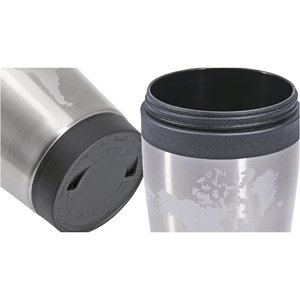 Icon Globe Tumbler - 14 oz. Image 1 of 3