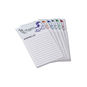 Bic Business Card Magnet with Note Pad - Grocery List Image 1 of 1