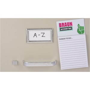 Bic Business Card Magnet with Notepad - Don't Forget Image 1 of 2