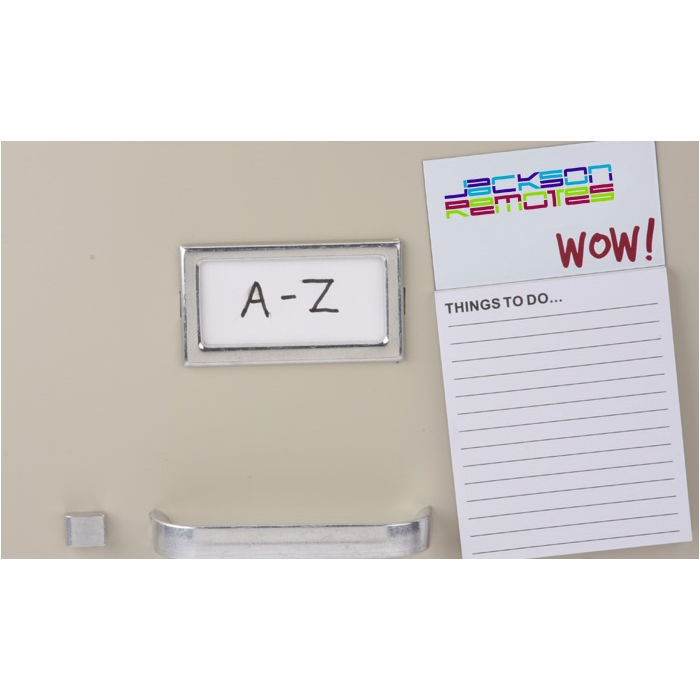 4imprint.com: Bic Business Card Magnet with Notepad - Wow 7873-WOW ...
