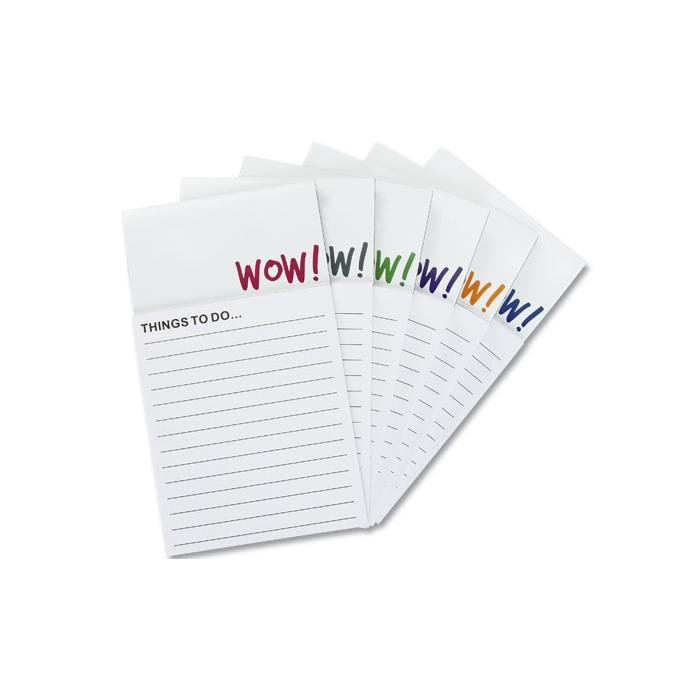 4imprint.com: Bic Business Card Magnet with Notepad - Wow 7873-WOW