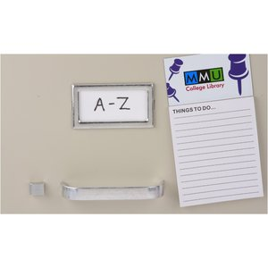 Bic Business Card Magnet with Notepad - Thumb Tacks Image 1 of 2