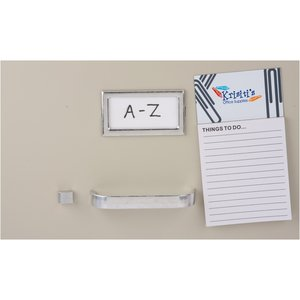 Bic Business Card Magnet with Note Pad - Paper Clips Image 2 of 2