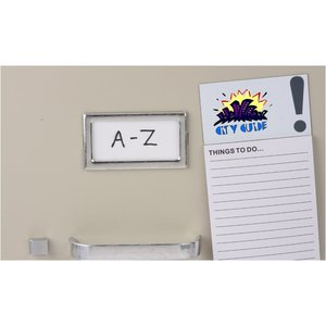 Bic Business Card Magnet with Note Pad - Exclamation Image 2 of 2
