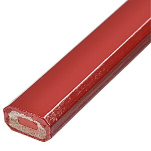 Red Lead Carpenter Pencil Image 1 of 2