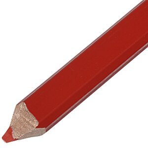 Red Lead Carpenter Pencil Image 2 of 2