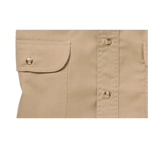 Blue Generation 2-Pocket LS Poplin Shirt-Men's-Closeout Image 3 of 3