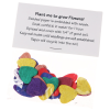 Flower Seed Multicolor Confetti Pack - Heart Image 1 of 1