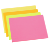 View Extra Image 1 of 1 of Neon Post-it® Notes - 3 inches x 4 inches - 50 Sheet
