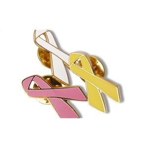 Awareness Ribbon Lapel Pin Image 2 of 2