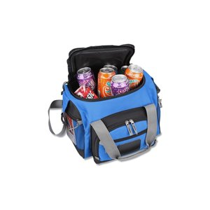 Recycled 12-Can Convertible Duffel Cooler