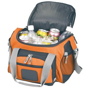 12-Can Convertible Duffel Cooler - Full Color Image 1 of 5