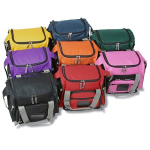 12-Can Convertible Duffel Cooler - Full Color Image 3 of 5