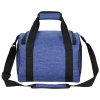 View Extra Image 1 of 4 of 12-Can Heathered Convertible Duffel Cooler - 24 hr