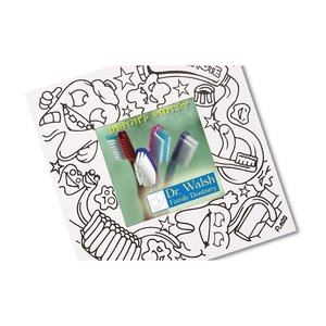Picture Me Coloring Magnet Frame - Dentist Image 1 of 4